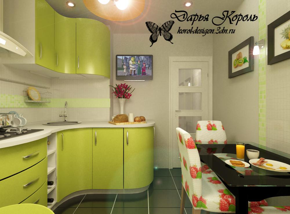 Кухня 11 кв с балконом дизайн